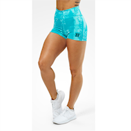 Better Bodies Gracie Hotpants Aqua Print
