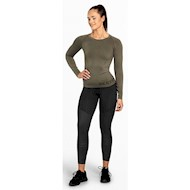 Better Bodies Nolita Seamless Longsleeve Washed Green
