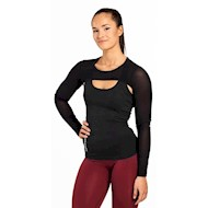Better Bodies Highbridge Mesh Long Sleeve Black