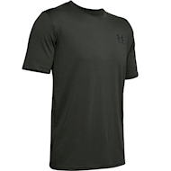 Under Armour Sportstyle Left Chest Short Sleeve Shirt Baroque Green