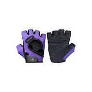 Harbinger Womens FlexFit Gloves -  Black/Purple