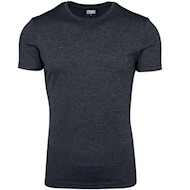 Urban Classics Active Melange Tee Charcoal Black