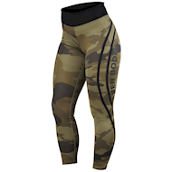 Better Bodies Camo High Tights Dark Green Camo