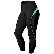 Better Bodies Fitness Curve Tights Black/Aqua