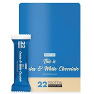 Bodylab Proteinbar Cookies and White Chocolate 12x65g