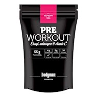 Bodyman Pre Workout Raspberry Soda