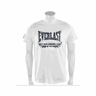 Everlast Mens Chest Print Tee White