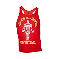 Golds Gym Stringer Tanktop - Red