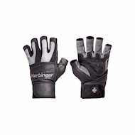 Harbinger BioFlex Wrist Wraps Gloves Grey