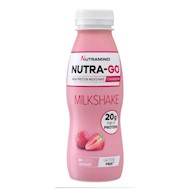 Nutramino Nutra-go Milkshake Strawberry 12x330ml