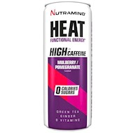 Nutramino HEAT Mulberry Pomegranate 330 ml - 24 stk