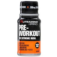 Nutramino +Pro Pre-Workout Shot Orange 60ml - 12 stk