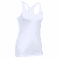 Under Armour HG Armour Racer Tank White