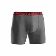 Under Armour Original 6inch Boxerjock True Grey Heather