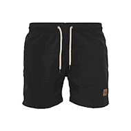Urban Classics Block Swim Shorts Black