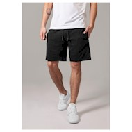 Urban Classics Interlock Sweat Shorts Black