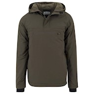 Urban Classics Padded Pull Over Jacket Olive