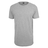Urban Classics Shaped Long Tee Grey