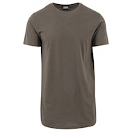 Urban Classics Shaped Long Tee Olive