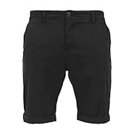 Urban Classics Stretch Turnup Chino Shorts Black