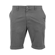 Urban Classics Stretch Turnup Chino Shorts Dark Grey