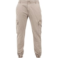 Urban Classics Washed Cargo Twill Jogging Pants Sand